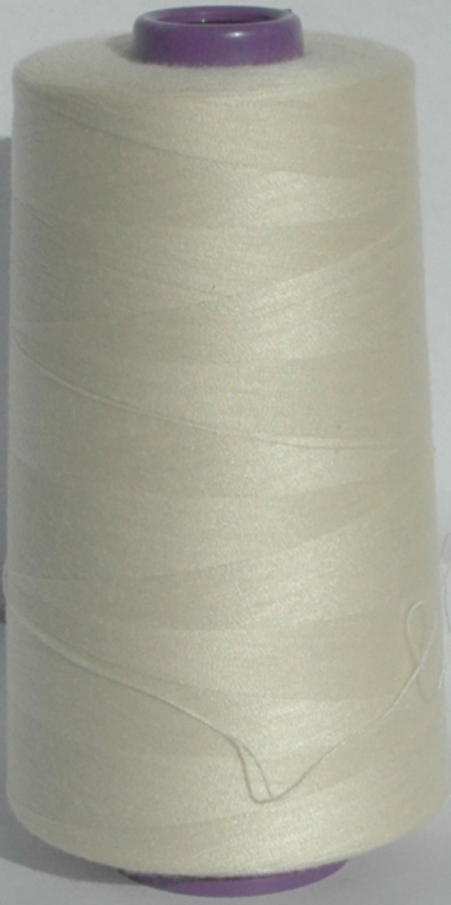 Sewing Machine & Overlocker Thread - Cream